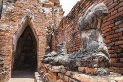 Wat Chai Wattanaram Royalty-vrije Stock Foto's