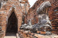 Wat Chai Wattanaram Stock Fotografie