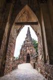 Wat Chai Wattanaram Royalty-vrije Stock Afbeeldingen