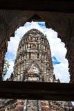 Wat Chai Wattanaram Stock Afbeeldingen