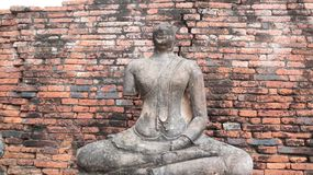 Wat Chai Wattanaram, Ancient Temple in Ayutthaya, Thailand stock images