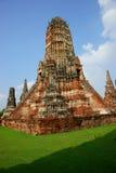 Wat Chai Wattanaram, Ayutthaya, Thaïlande. Images libres de droits