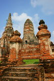 Wat Chai Wattanaram, Ayutthaya, Thailand. Wat Chai Wattanaram buddhist temple, situated in the old capital of Thailand, Ayutthaya. Built in 1630 in the Khmer Stock Photo