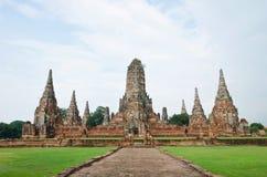 Wat Chai Wattanaram, Ayutthaya, Thailand. Stock Photo