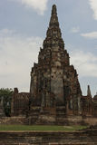 Wat Chai Wattanaram in Ayutthaya in Thailand Stock Photo