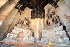 Wat Chai Wattanaram Stock Photography