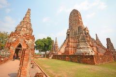 Wat Chai Wattanaram Royalty Free Stock Photo