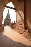 Wat Chai Wattanaram Royalty Free Stock Image