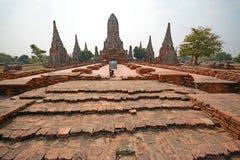 Wat Chai Wattanaram Stock Images