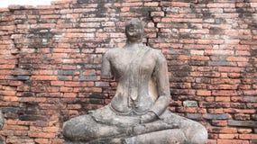 Wat Chai Wattanaram forntida tempel i Ayutthaya, Thailand arkivbilder