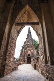 Wat Chai Wattanaram Royalty Free Stock Images