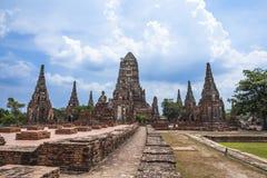 Wat Chai Wattanaram Royalty Free Stock Photography