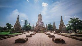 Wat Chai Watthana Ram Stock Foto