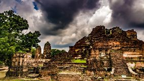 Wat Chai Watthanaram images libres de droits