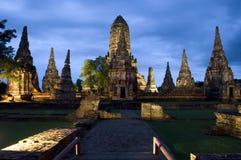 Wat Chai Watthanaram Imagens de Stock