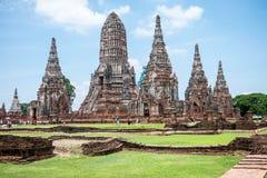 Wat Chai Watthanaram Imagem de Stock
