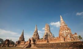 Wat Chai Watthanaram ,acient ruin. Wat Chai Watthanaram in Ayutthaya,Thailand Stock Image