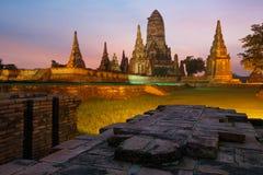 Wat Chai Watthanaram Royalty Free Stock Photos