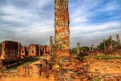 Wat Chai Watthanaram in Ayutthaya stock foto