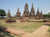 Wat Chai Watthanaram in Ayutthaya province Thailand Royalty Free Stock Photo