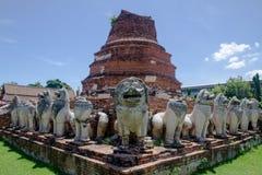 Wat Chai Watthanaram em Ayutthaya Fotografia de Stock Royalty Free