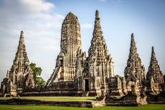 Wat Chai Watthanaram Temple Image libre de droits