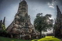 Wat Chai Watthanaram Temple Image stock
