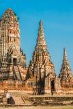 Wat Chai Watthanaram temple Ayutthaya bangkok Thailand Stock Photo