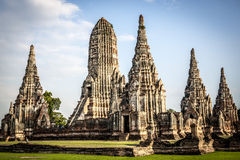 Wat Chai Watthanaram temple. In Ayutthaya, Thailand Royalty Free Stock Image