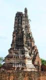 Wat Chai Watthanaram. In thailand Stock Photography