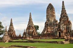 Wat Chai Wattnaharam Royalty Free Stock Photography