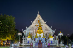 Wat Chaing Rai Lampang Thailand Arkivfoton