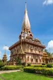 WAT CHAITHARAM,普吉岛,泰国 库存图片