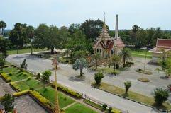 Wat Chaithararam ou wat Chalong à Phuket, Thaïlande image stock