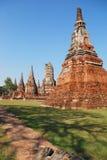 Wat Chaiwatanaram Foto de archivo libre de regalías