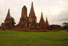 Wat Chaiwatanaram Stock Image