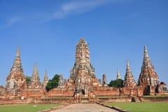 Wat Chaiwattanaram Images libres de droits