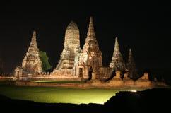 Wat Chaiwattanaram Fotografia de Stock Royalty Free