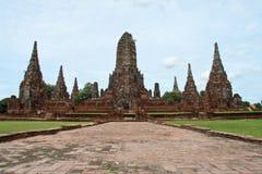 Wat Chaiwattanaram Fotografia Stock