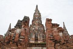 Wat Chaiwattanaram Fotografia Stock Libera da Diritti