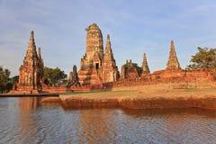 Wat Chaiwattanaram Arkivfoton
