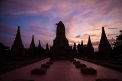 Wat Chaiwattanaram Royaltyfri Fotografi