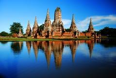 Wat Chaiwattanaram Fotografie Stock