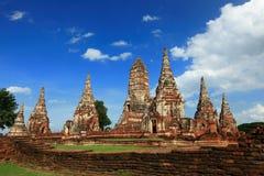 Wat Chaiwattanaram, Ayudhya, Thailand Royalty Free Stock Photos