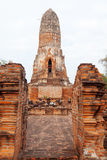 Wat Chaiwattanaram, Ayuthaya Royalty Free Stock Images