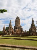 Wat Chaiwattanaram in Ayutthaya Stock Photography