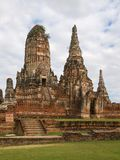 Wat Chaiwattanaram in Ayutthaya Royalty Free Stock Photo