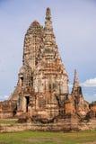 Wat Chaiwattanaram, Ayutthaya, Tailândia Fotos de Stock Royalty Free