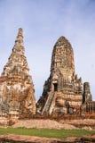 Wat Chaiwattanaram, Ayutthaya, Tailândia Imagens de Stock