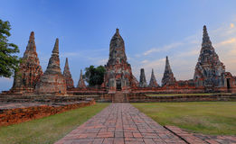 Wat Chaiwattanaram in Ayutthaya, Thailand Stock Photography